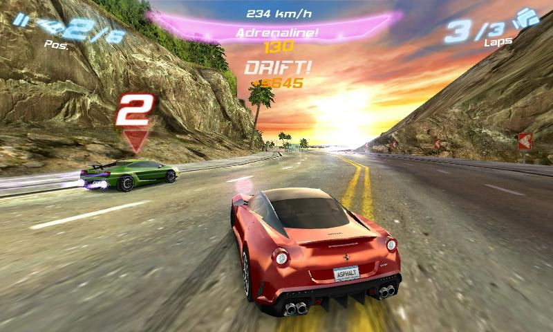 Asphalt 6 HD (Game) For Android Phones [Best Racing Game