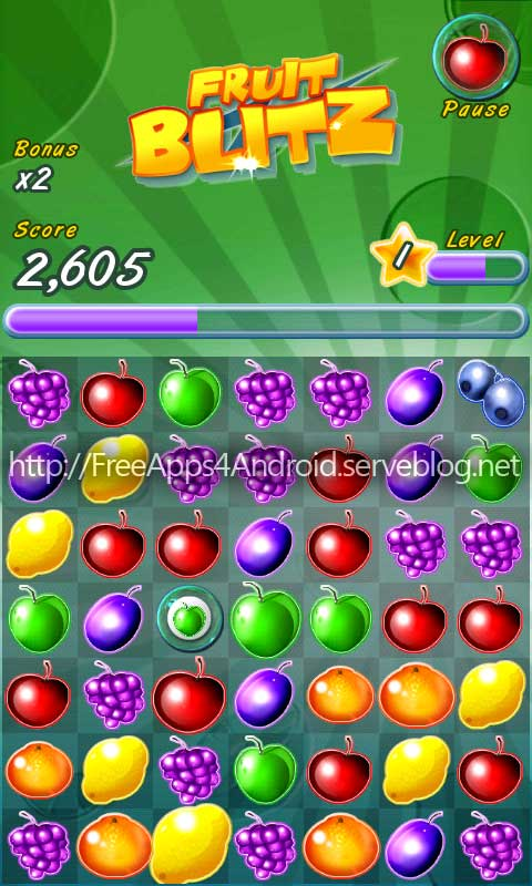 Fruit Blitz Android Game: Free Download